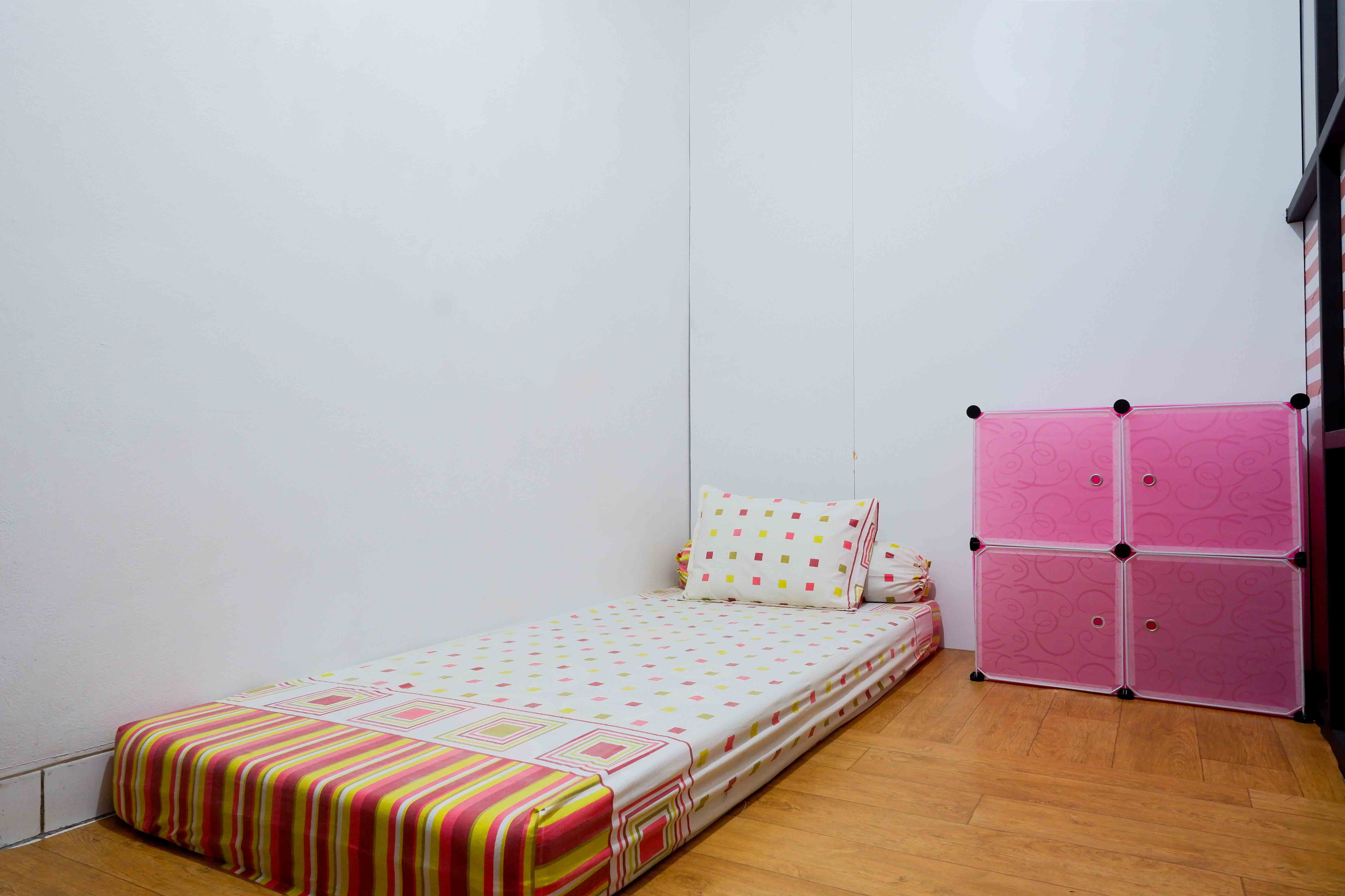 Kost Cozy Single Bed Separate Shared Bathroom A  Bedroom Kost Cakung Me  0