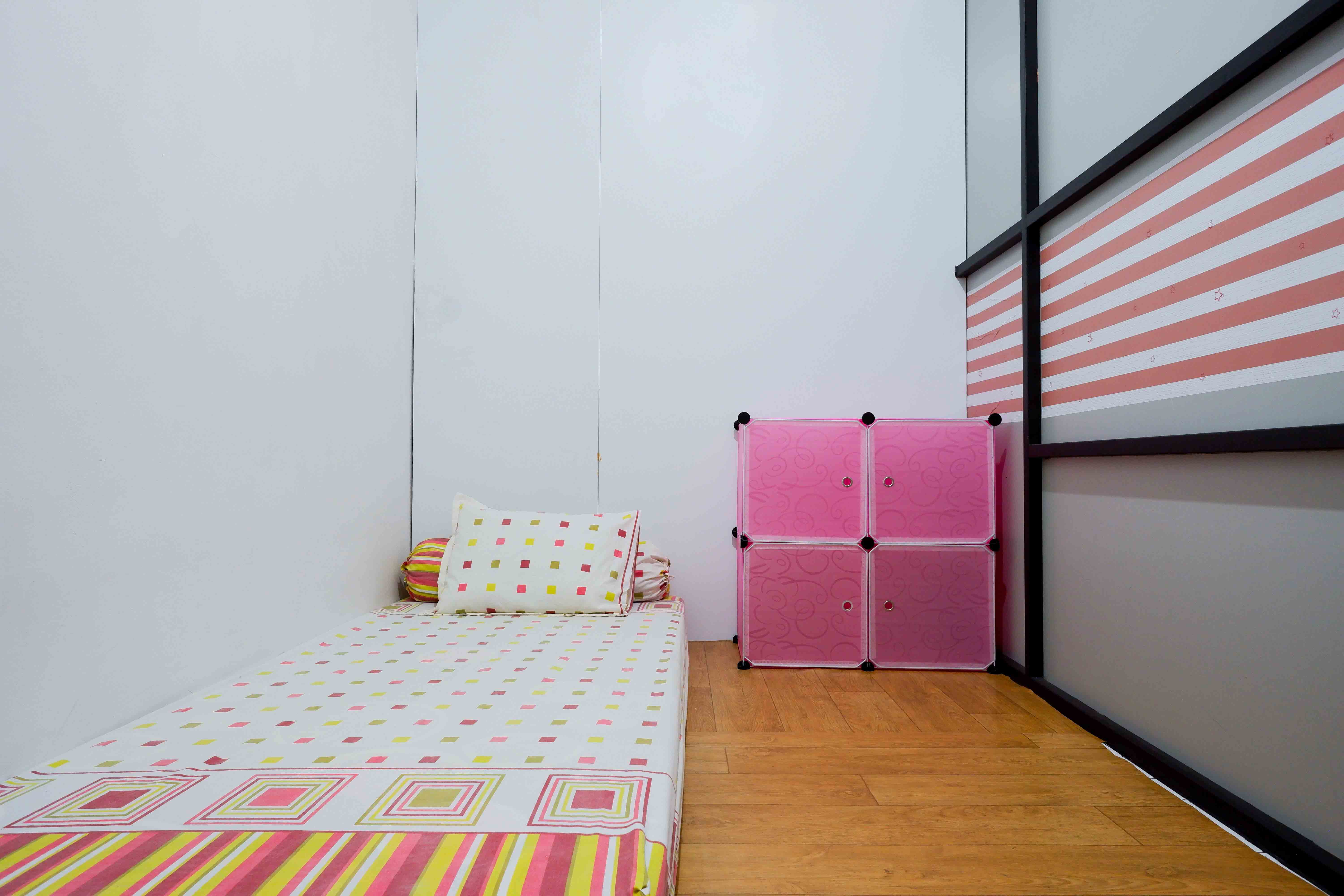 Kost Cozy Single Bed Separate Shared Bathroom A  Bedroom Kost Cakung Me  3