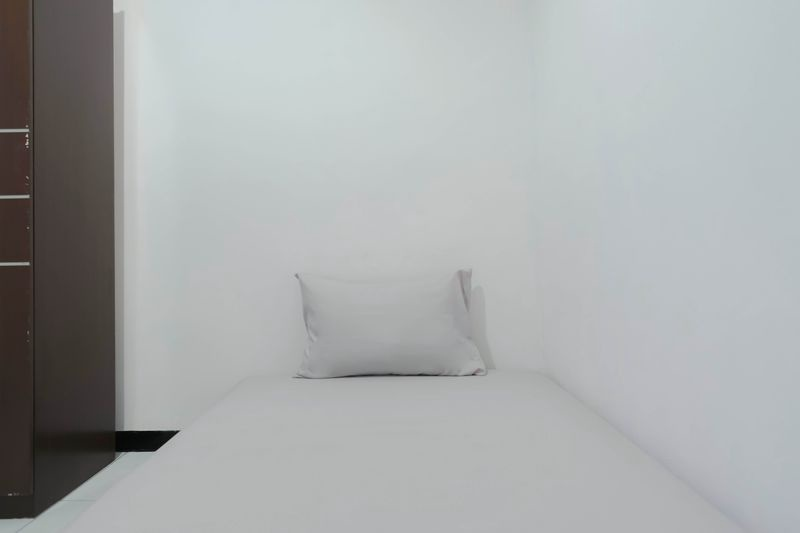 Kost Cozy Single Bed A  Bedroom Kost Antapani Black And White House 2